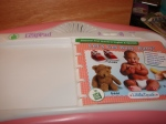 Little Touch Leap Pad book and cartridge