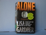 One of the books going in today...Lisa Gardner,Alone