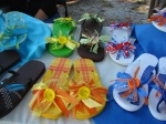 Flip Flops selling for School trip to NYC by LC Girl